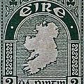 1922 Ireland Eire Stamp by Bill Owen