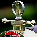 1923 Bugatti Type 23 Brescia Lavocat Et Marsaud Hood Ornament by Jill Reger
