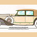 1923 Hispano Suiza Club Sedan By R.h.dietrich by Jack Pumphrey