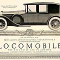 1924 - Locomobile Victoria Sedan Automobile Advertisement by John Madison