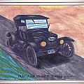 1924' Ford Model-t Touring by Gene Pippert