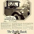 1925 - Buick Automobile Advertisement by John Madison