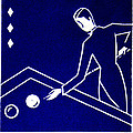 1925 Akatsuki Billiards Of Japan by Historic Image
