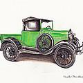 1926 Ford Truck by Heather Stinnett