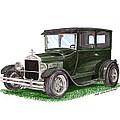 1926 Ford Tudor Sedan Street Rod by Jack Pumphrey