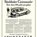 1927 - Studebaker Commander Automobile Advertisement by John Madison