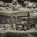 1927 Dodge Braham Bodie Ca Sepia Img 7299 by Greg Kluempers