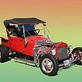 1927 Ford T Bucket Rag Top T Bucket by Jack Pumphrey
