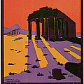 1927 La Syrie Et Le Liban - Vintage Travel Art by Presented By American Classic Art