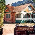 1927 Pendley Homestead House Sedona by Connie Fox