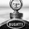 1928 Bugatti Type 44 Cabriolet Hood Ornament - Emblem by Jill Reger