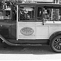 1928 Chevy Half Ton Pick Up In Black And White by John Telfer