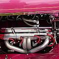 Antique Car Engine by Karl Rose