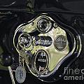 1928 Ford Model A Tudor Interior by Davandra Cribbie