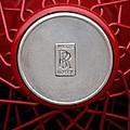 1928 Rolls-royce Phantom I Sedenca De Ville Wheel Emblem by Jill Reger