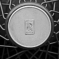 1928 Rolls-royce Spoke Wheel by Jill Reger