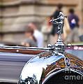 1928 Vintage Chrysler 72 Series - Hood Ornament by Kaye Menner