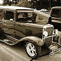 1929 Chevrolet Classic Car Automobile Sepia 3132.01 by M K Miller