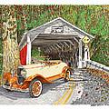 1929 Chrysler 65 Covered Bridge by Jack Pumphrey