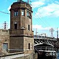 1929 Dix Lift Bridge by MJ Olsen