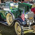 1929 Ford Classic Antique Automobile Car In Color  3053.02 by M K Miller
