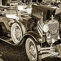 1929 Ford Classic Antique Automobile Car In Sepia  3053.01 by M K Miller