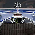 1929 Mercedes Benz S Erdmann And Rossi Cabiolet Hood Ornament by Jill Reger