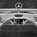 1929 Mercedes-benz S Erdmann - Rossi Cabiolet Hood Ornament by Jill Reger