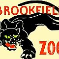 1930 - Brookfield Zoo Poster - Boston - Color by John Madison