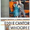 1930 - Whoopee - Movie Poster - Eddie Cantor - Florenz Ziegfield - Samuel Goldwyn - Color by John Madison
