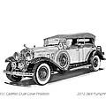 1931 Cadillac Phaeton by Jack Pumphrey