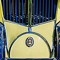 1930 Cord L-29 Speedster Grille Emblem by Jill Reger