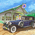 1930 Cord L Towncar by Jack Pumphrey