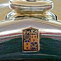 1930 Desoto K Hood Ornament Emblem by Jill Reger
