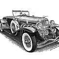 1930 Duesenberg Model J by Jack Pumphrey