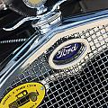 1930 Ford Model A - Radiator N Grill - 7479 by Gary Gingrich Galleries