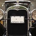 1930 Ford Model A by Davandra Cribbie