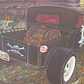 1930 Ford Pick Up Truck/reaper by Russell Boothe