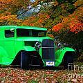1930 Ford Sedan Delivery Truck  by Davandra Cribbie