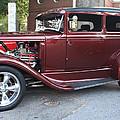 1930 Ford Two Door Sedan Side View by John Telfer