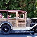 1930 Model A Ford Station Wagon by Charles Robinson