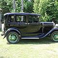 1930 Model-a Town Car 1 by Joseph Marquis