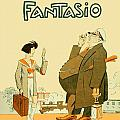 1931 - Fantasio French Magazine Cover - September - Color by John Madison