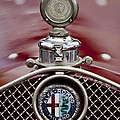 1931 Alfa-romeo Hood Ornament by Jill Reger