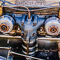 1931 Bentley 4.5 Liter Supercharged Le Mans Engine Emblem by Jill Reger