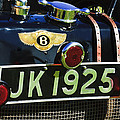 1931 Bentley 4.5 Liter Supercharged Le Mans Taillight Emblem by Jill Reger