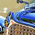 1931 Chrysler Cg Imperial Dual Cowl Phaeton Hood Ornament - Grille by Jill Reger