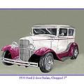 1931 Ford 2 Door Sedan Street-rod by Jack Pumphrey