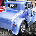1931 Ford Model A Classic Car Back Side In Color 3217.02 by M K Miller