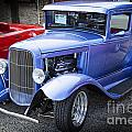 1931 Ford Model A Complete Classic Car In Color 3212.02 by M K Miller